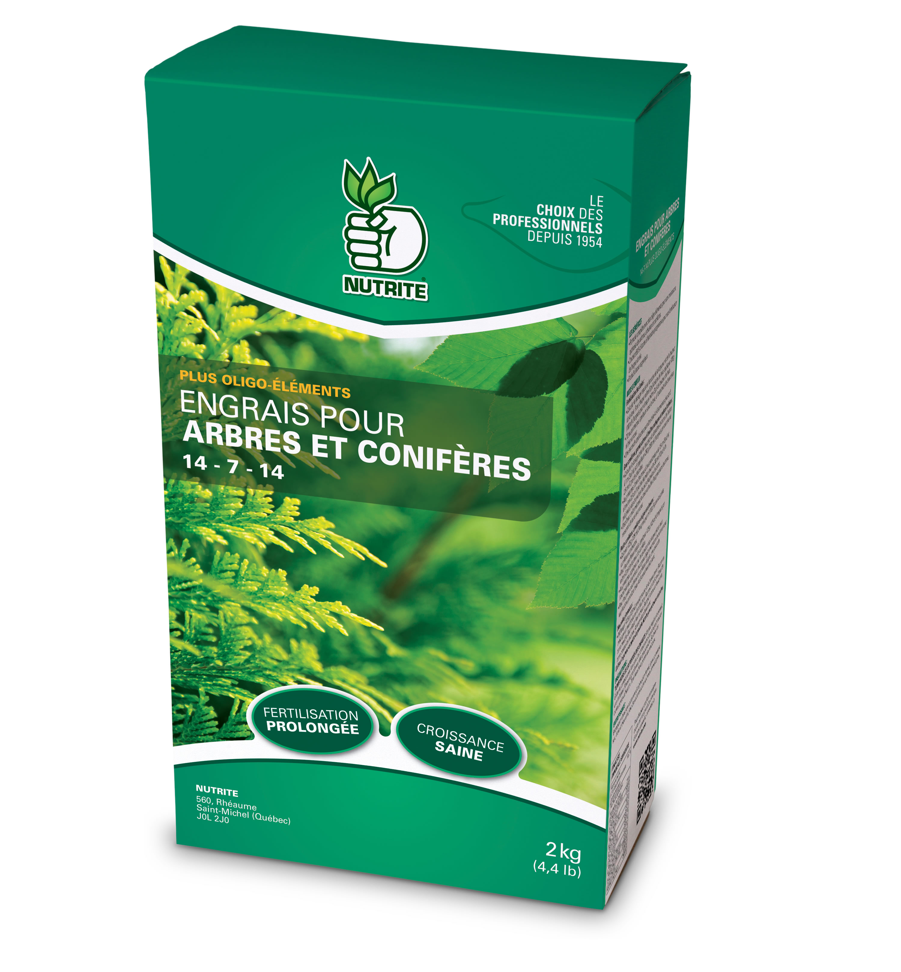 Engrais pour arbres 14 7 14 nutrite nos produits for Produit de jardinage