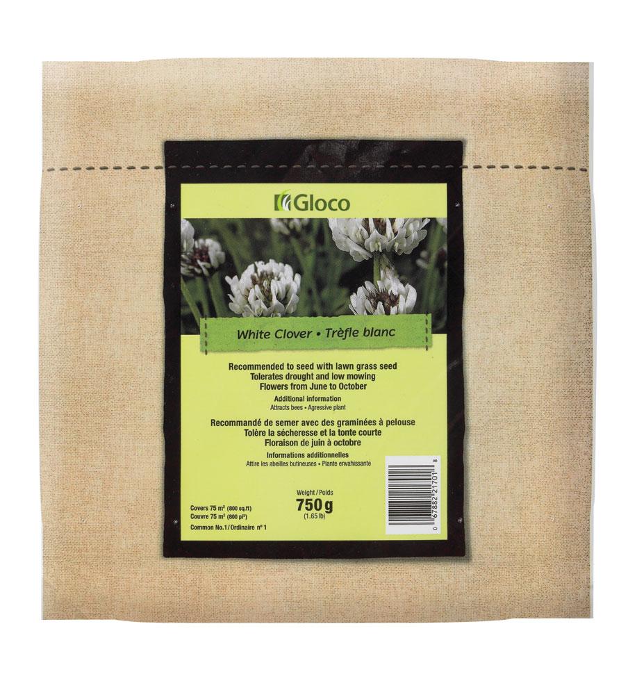 Semence pelouse trefle blanc gloco nos produits for Produit de jardinage
